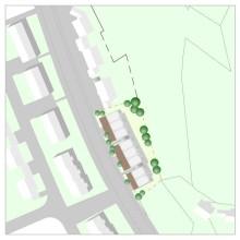Planen - Reihenhausanlage - Lageplan, Pfaffenhofen